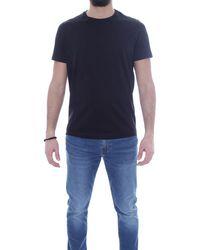 Alessandro Dell'acqua T-shirts And Polos - Black