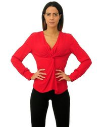 Jucca Blouse United Ribes Hue Knot - Red