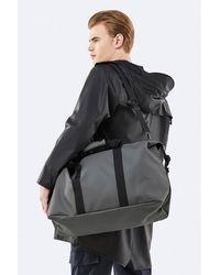 Rains Charcoal Weekend Bag - Gray