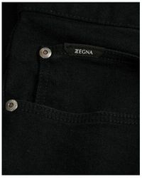 Z Zegna Black Jeans Colour: Black