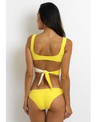 Lisa Marie Fernandez Marie-louise Bikini Yellow