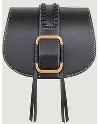 Ba&sh Teddy Bag S Leather Noir Ba-sh - Black