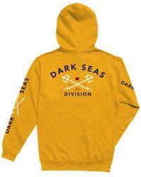 Dark Seas Headmaster Hooded Sweat - Gold - Yellow
