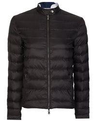 Armani Armani Jeans Womens Lightweight Down Jacket - Black