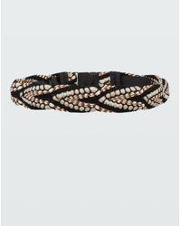 Dorothee Schumacher Woven Belt - Black