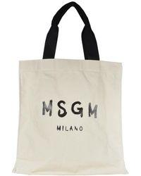 MSGM Bags.. Beige - Brown