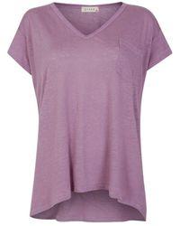 Stark X - Lin Tee Lavender Gray - Purple