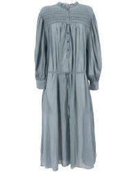 Isabel Marant Perkins Dress - Blue