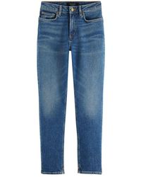 Scotch & Soda Scotch & Soda High Five High-rise Slim-leg Jeans - Blue