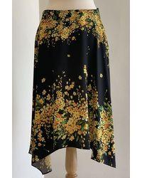 Paule Ka Flower Skirt - Yellow