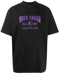 ADER error X Megusta Exclusive T-shirt - Black