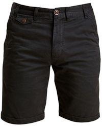 Barbour Neuston Twill Shorts Navy - Blue