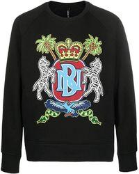 Neil Barrett - Men's Bjs630bn586s1874 Black Cotton Sweatshirt - Lyst