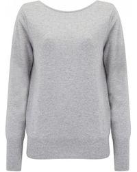 Cocoa Cashmere - Boat Neck Strappy Cashmere Sweater - Lyst