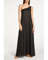 Kalmar Rania & Gold Dress - Black
