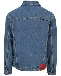 424 Faded Denim Jacket - Blue