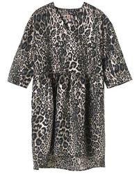 Becksöndergaard Becksã¶ndergaard Jaleo Sanna Dress - Leopard - Multicolor