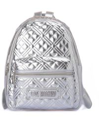 Love Moschino Backpack - Metallic