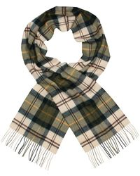 Barbour Scarf - Ancient Green Merino Cashmere