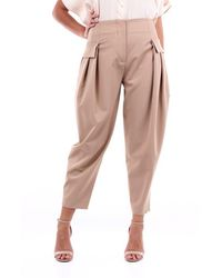Stella McCartney Stella Mc Cartney Trousers Cargo Women Camel - Brown