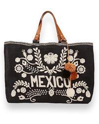 Star Mela Starmela Mexico Tote Bag - Pink