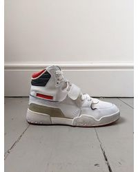 Étoile Isabel Marant Alsee Leather Sneakers - Multicolor
