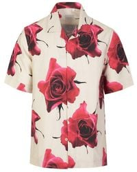Paul Smith Floral Shirt - Pink