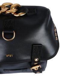N°21 Backpack With Logo - Black