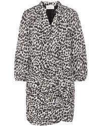 Berenice Syriel Dress Leopard - Multicolour