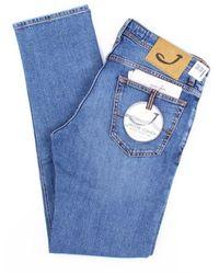 Jacob Cohen Jeans Slim Men Blue Jeans