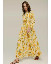 Lily and Lionel Lily & Lionel Indian Sunset Dress Secret Garden - Yellow