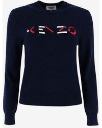 KENZO Sweaters - Blue