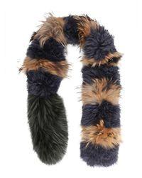 Mr & Mrs Italy Fur Collar - Multicolour