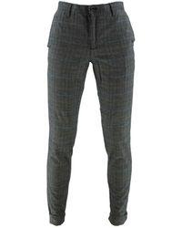 ALBERTO Square Trousers Cotton 6287 1227 089 - Grey
