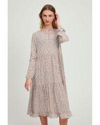 B.Young Bximma Dress Birch - Multicolour