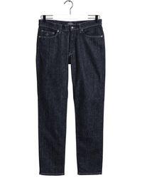 GANT Dark Slim Jeans - Blue