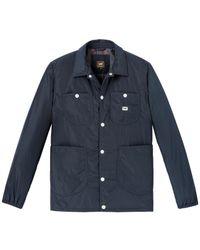 Lee Jeans Nylon Loco Jacket - Night Sky - Blue
