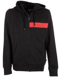 Woolrich Luxury Fleece Fz Hoodie Black