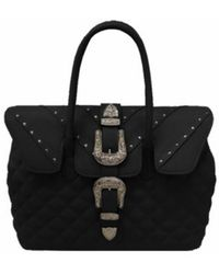 Mia Bag - • Quilted Shoulder Bag In Black - Lyst