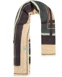 POM Amsterdam Shiny Stripes Scarf - Multicolour