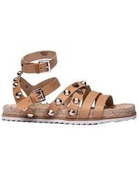 Kendall + Kylie Kendall + Kylie Leather Sandals - Brown