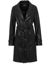 Unreal Fur Heroes Coat - Black