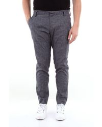 Entre Amis Capri Trousers With America Pocket - Blue
