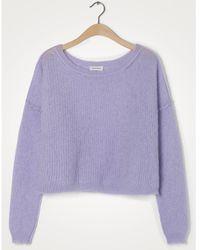 American Vintage Zazow Purple Knit