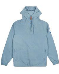 Hikerdelic Conway Smock Jacket Aqua - Blue