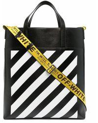 Off-White c/o Virgil Abloh Men's Omna151r21lea0011001 Black Leather Travel Bag
