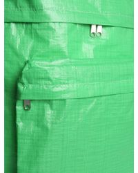 Comme des Garçons Backpack In Technical Fabric - Green