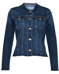 7 For All Mankind Denim Jacket - Blue