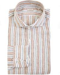 Xacus Shirt In Beige - Multicolour