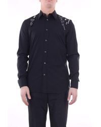 Alexander McQueen Alexander Mc Queen Shirts Casual Men Black